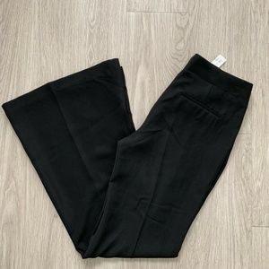 Zara Womens Dress Pants Slacks Wide Flare Large